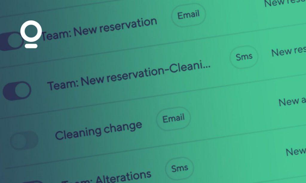 Team notifications smartbnb