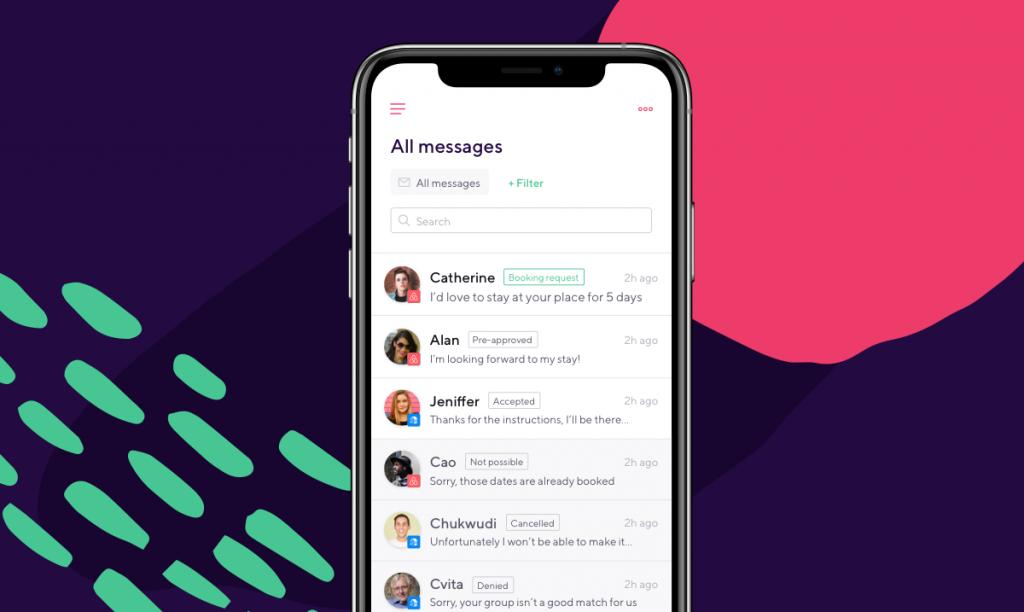 smartbnb app inbox